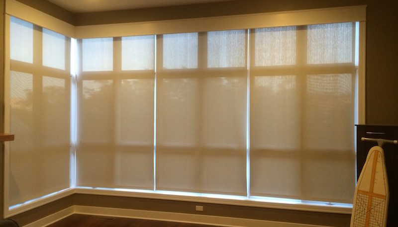 Automated window treatments in Chicago